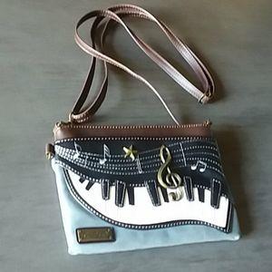 Chala Piano Musical Note Handbag
